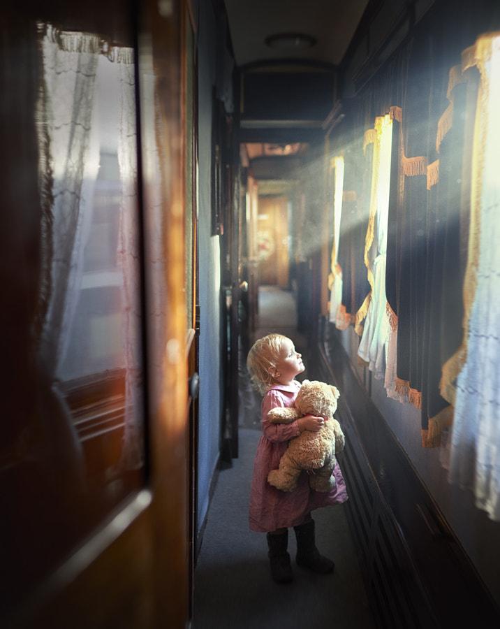 in the train... by Elena Shumilova on 500px.com