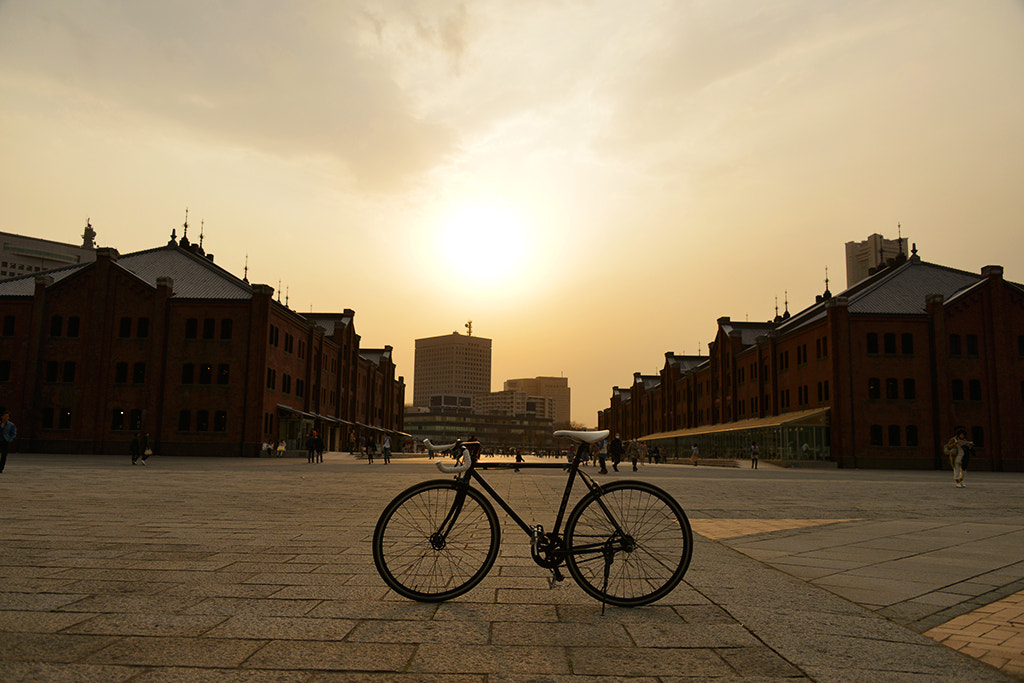 Photograph Bike and Red Brick Warehouse by t_aLee on 500px