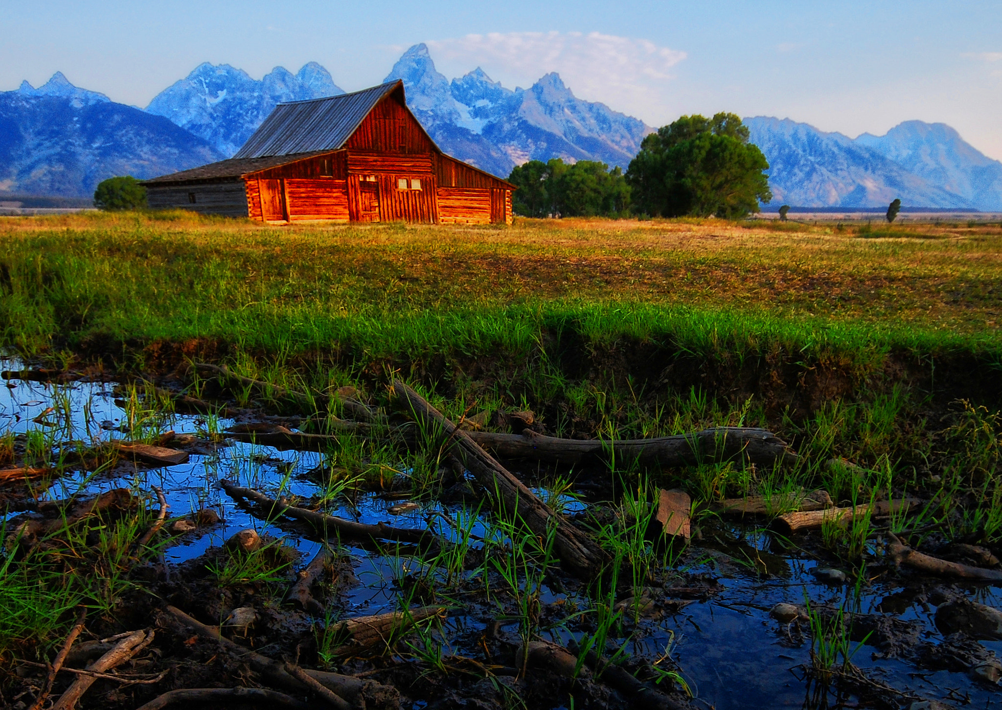 Photograph Soft Light at the Barn by Jeff Clow on 500px