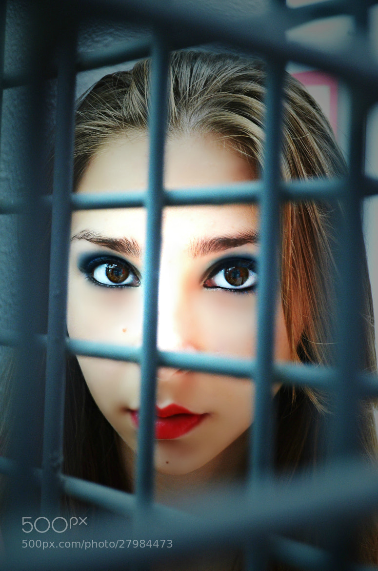 Photograph Eyes Behind Bars by Amanda Thorsén on 500px