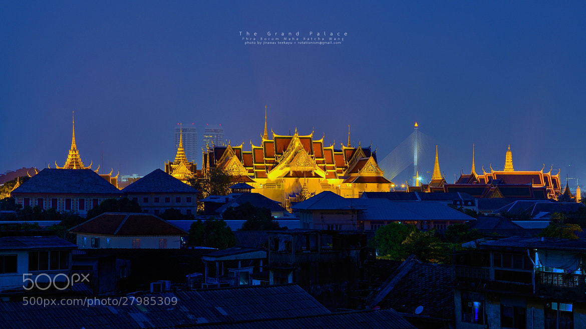 Photograph Golden Palace by Jirawas Teekayu on 500px