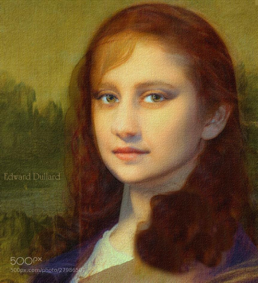 Photograph Catriona meets Mona Lisa. by EDWARD DULLARD on 500px
