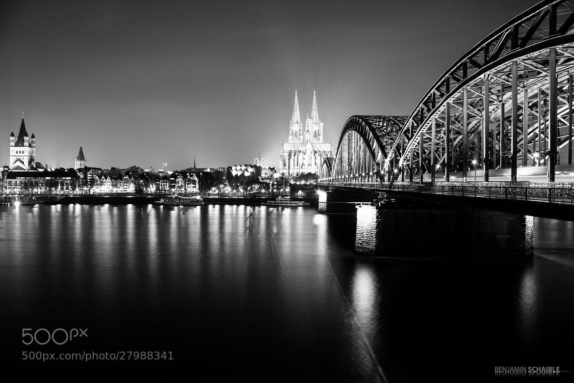 Photograph cologne_b&w by Benjamin Schaible on 500px