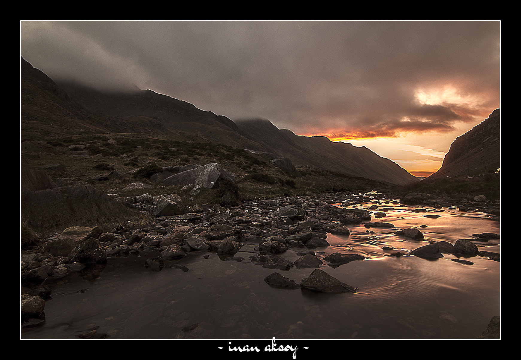 Photograph Sunset in Snowdonia by Inan Aksoy on 500px