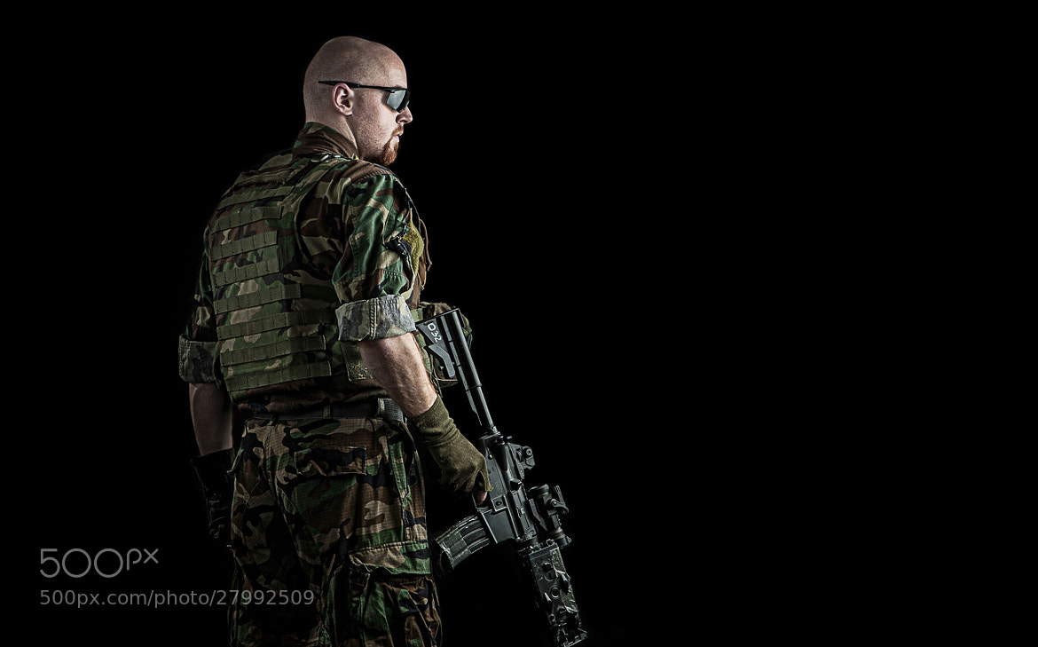 Photograph Marine Force Recon by Pavel Schlemmer on 500px