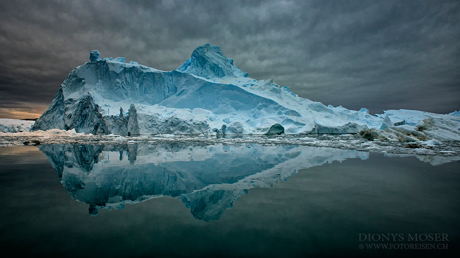 Photograph giant iceberg by Dionys Moser on 500px
