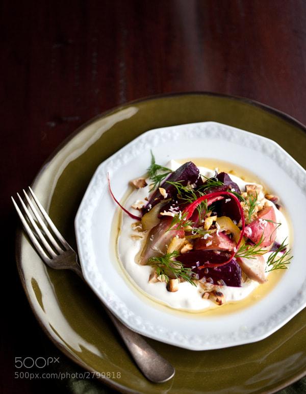 Photograph beet dish by matt wright on 500px
