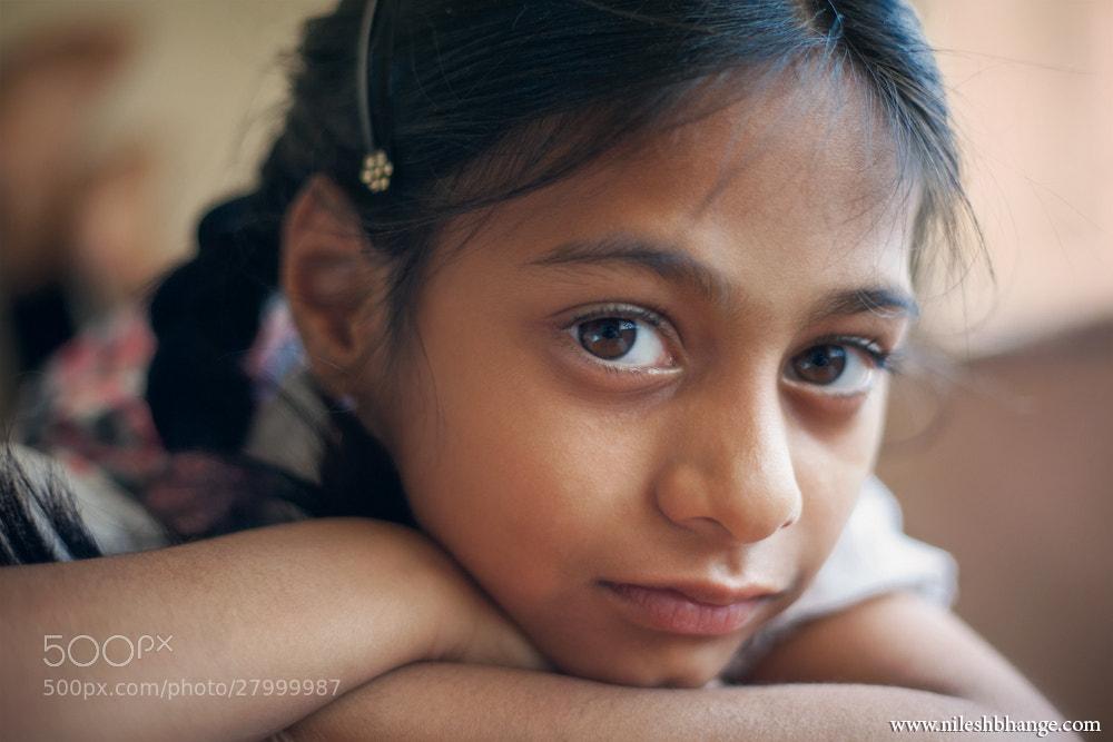 Photograph Mansi by Nilesh Bhange on 500px