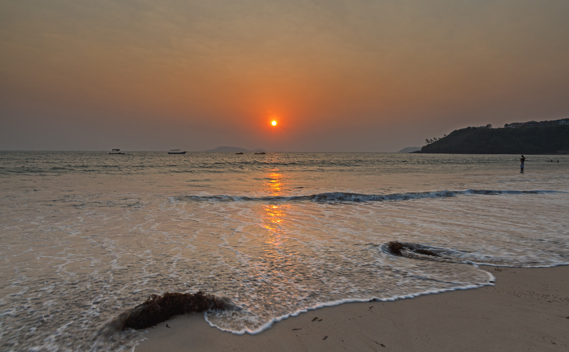 Photograph Sunset on the beach by S A  I on 500px
