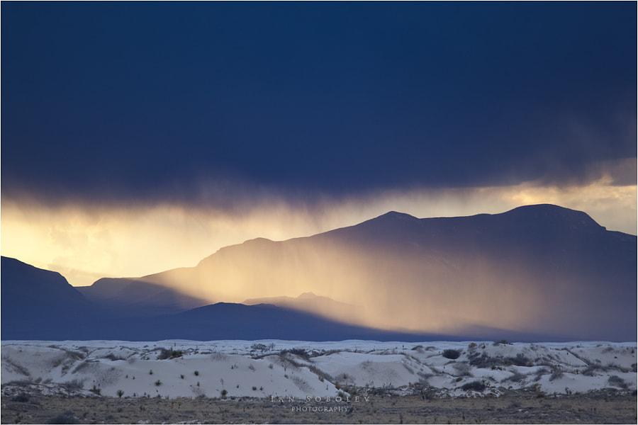 Sunset in Blue Tones
