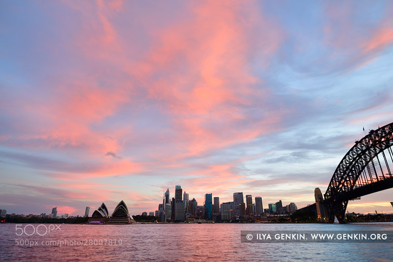 Photograph Sunset over Sydney by Ilya Genkin on 500px
