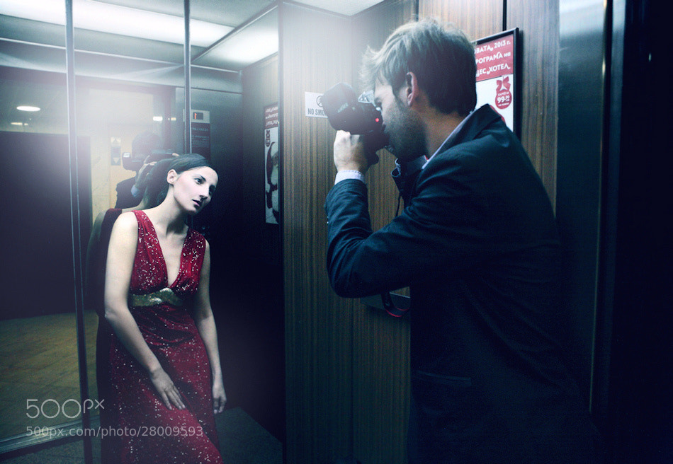 Photograph Photographer and muse by Kiril Stanoev on 500px
