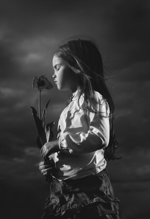Photograph Kid with flower II by Kiril Stanoev on 500px