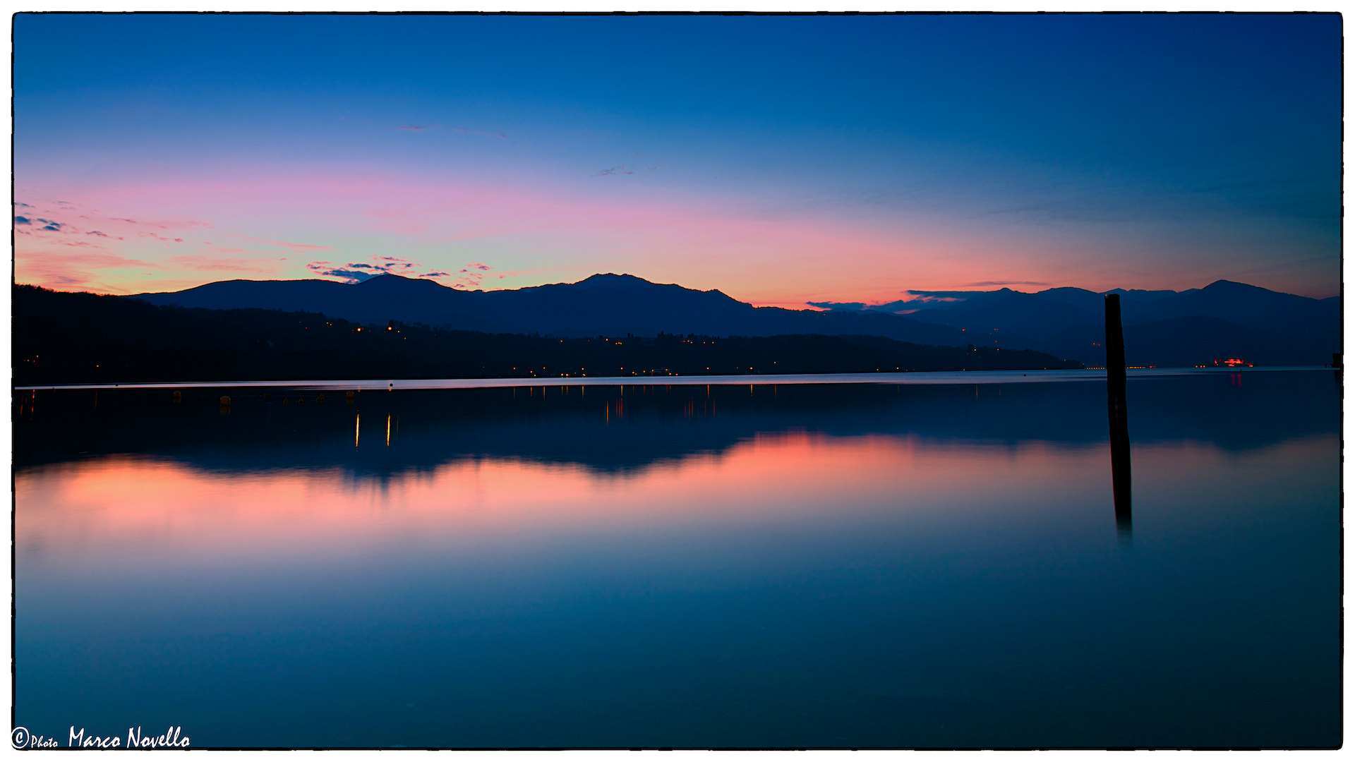 Photograph The blue hour by Marco Novello on 500px