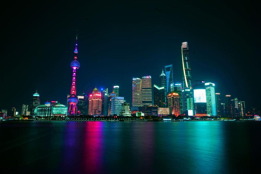 上海外滩, автор — 15312520356  на 500px.com