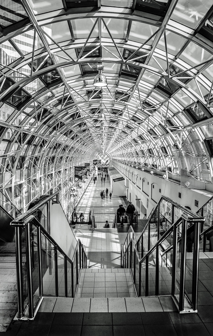 Photograph Toronto Union Station Skywalk by Gaby Israel on 500px