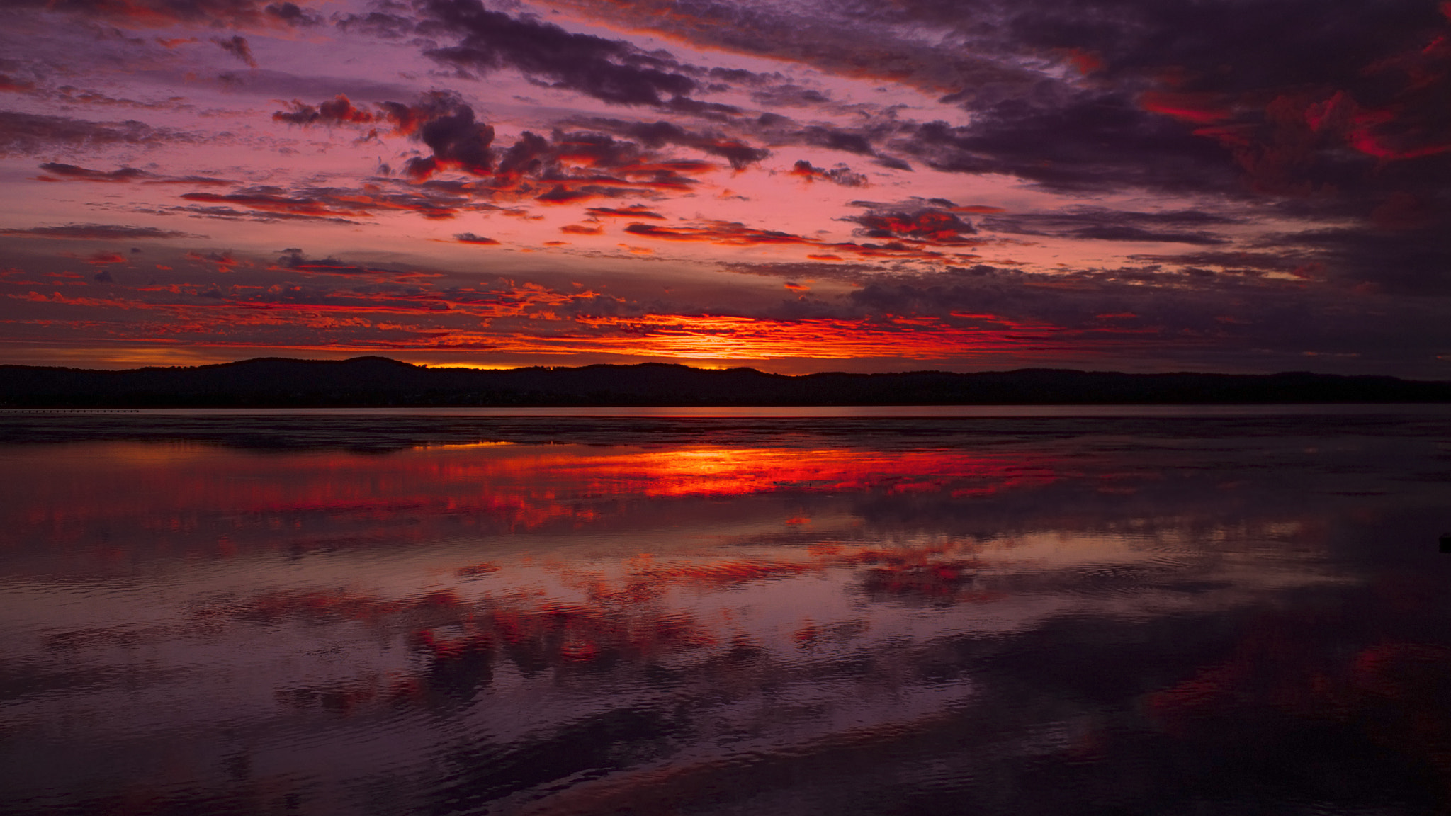 Photograph Tuggerah Lake || EPIC SUNSET by Rhys Pope on 500px