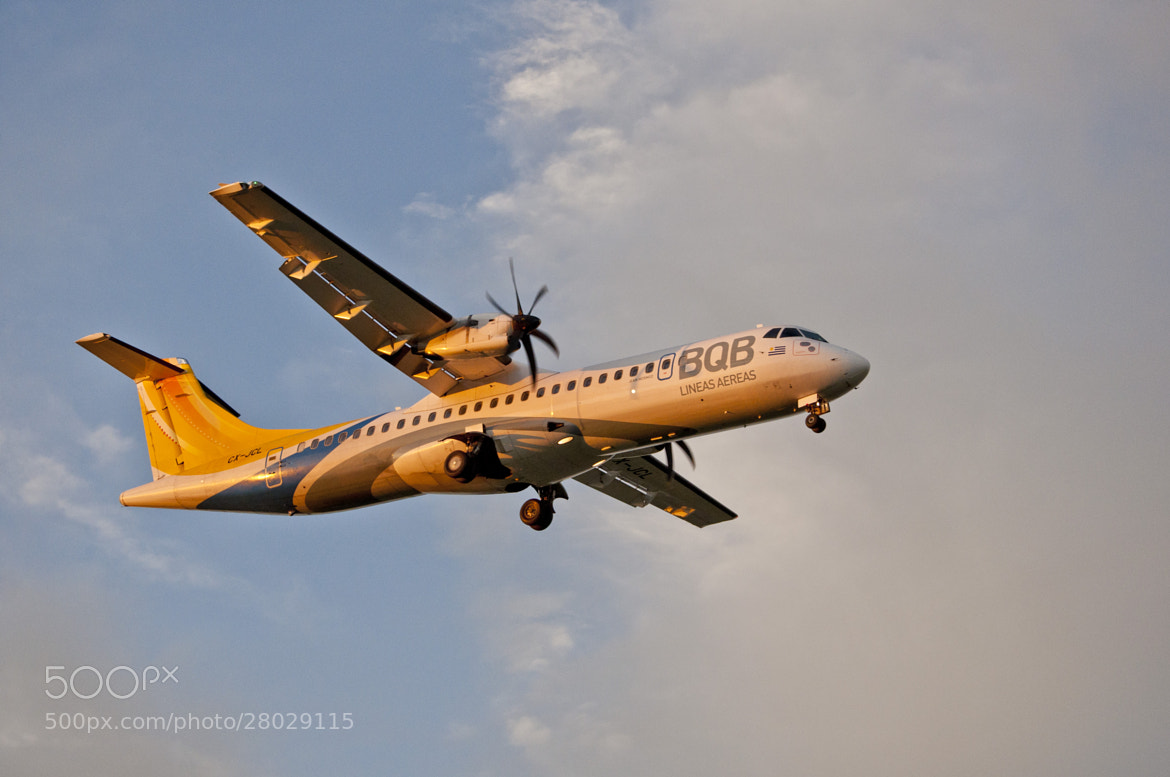 Photograph ATR 42 by Emilio Sanders on 500px