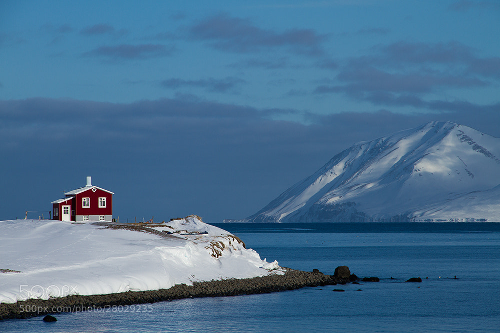 Photograph The little red house by Margrét Elfa Jónsdóttir on 500px