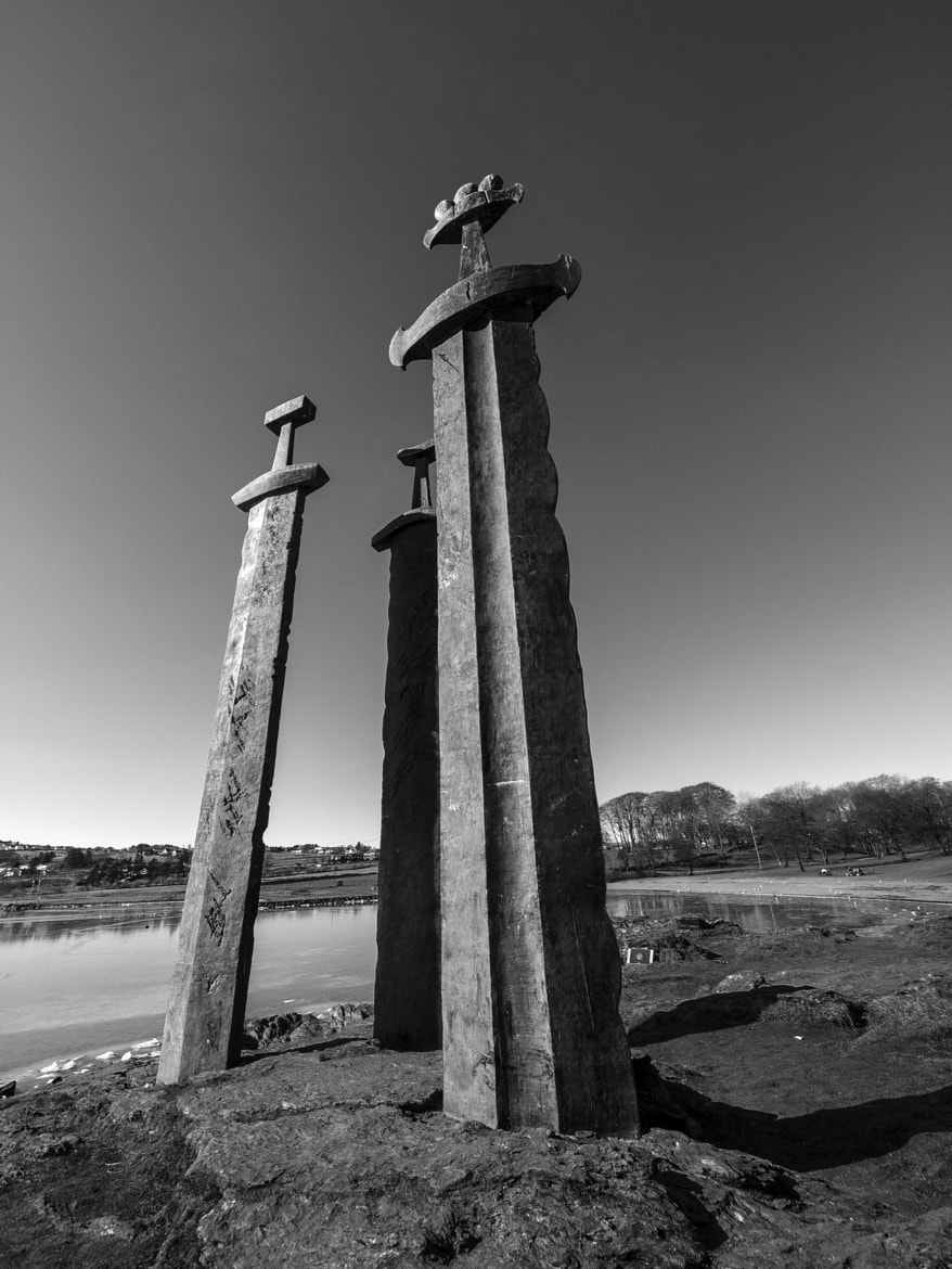 Photograph The Three Swords (Sverd i Fjell) by Rick Wezenaar on 500px