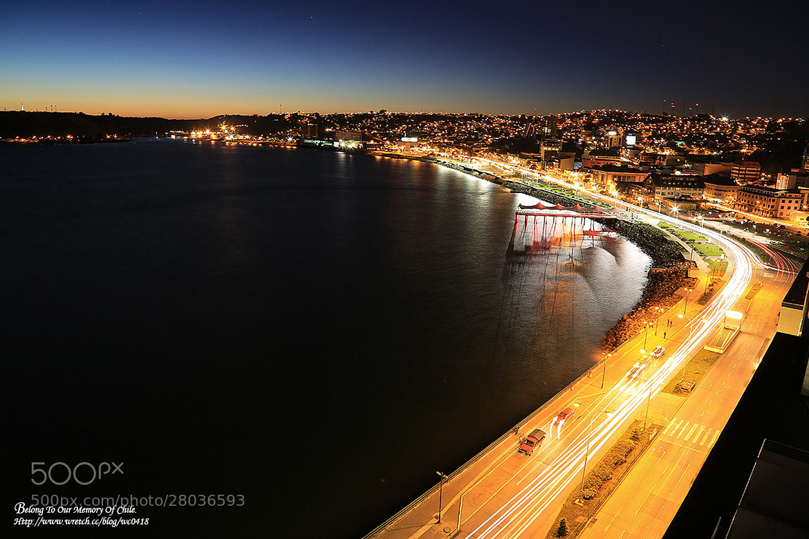 Photograph Chile night view by 憲龍 周 on 500px