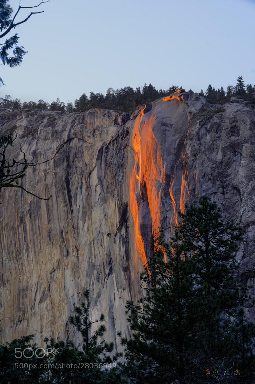 Photograph Horse Tail Fall, Yosemite. by Satya M on 500px