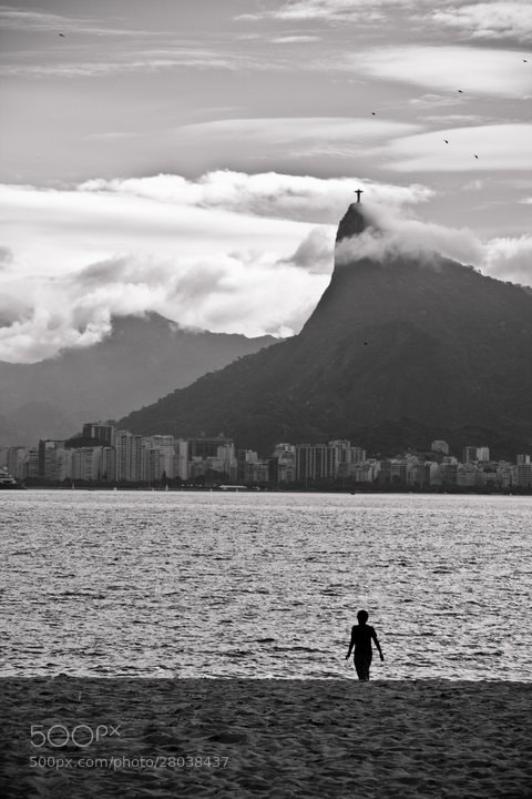 Photograph Lonely boy at Rio by Rodolpho Reis on 500px