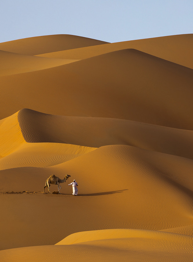beauty of the desert dunes by Mona Altamimi on 500px.com