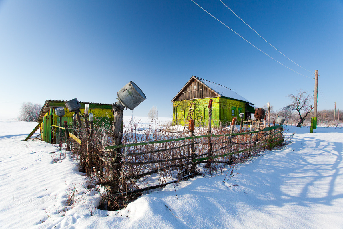 Photograph Russian Post in Village by Denis Belyaev on 500px