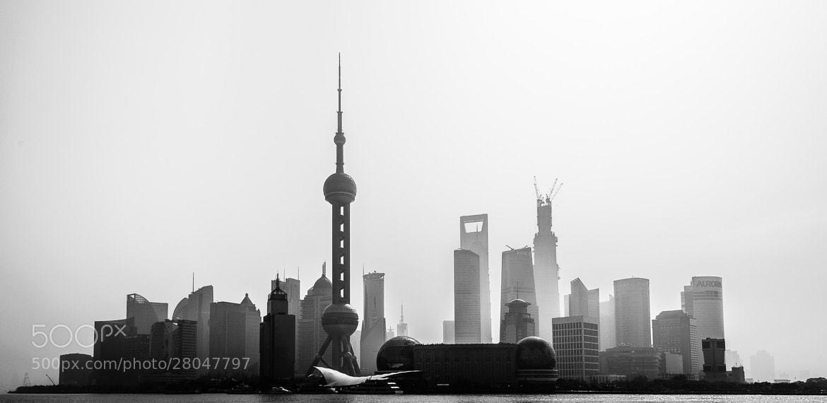 Photograph Silhouette Shanghai by Kevin Dharmawan on 500px