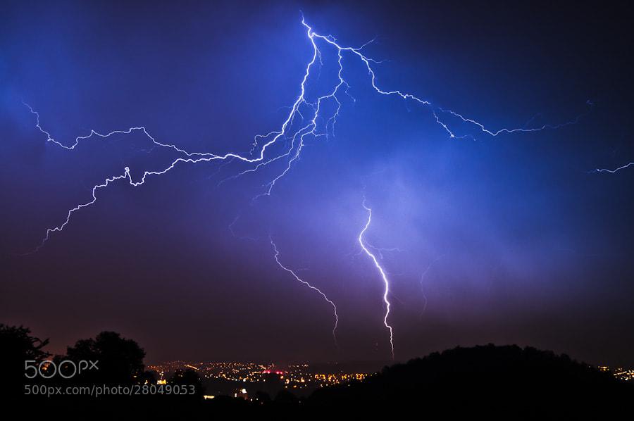 Photograph Lightning by Sidney Bovy on 500px