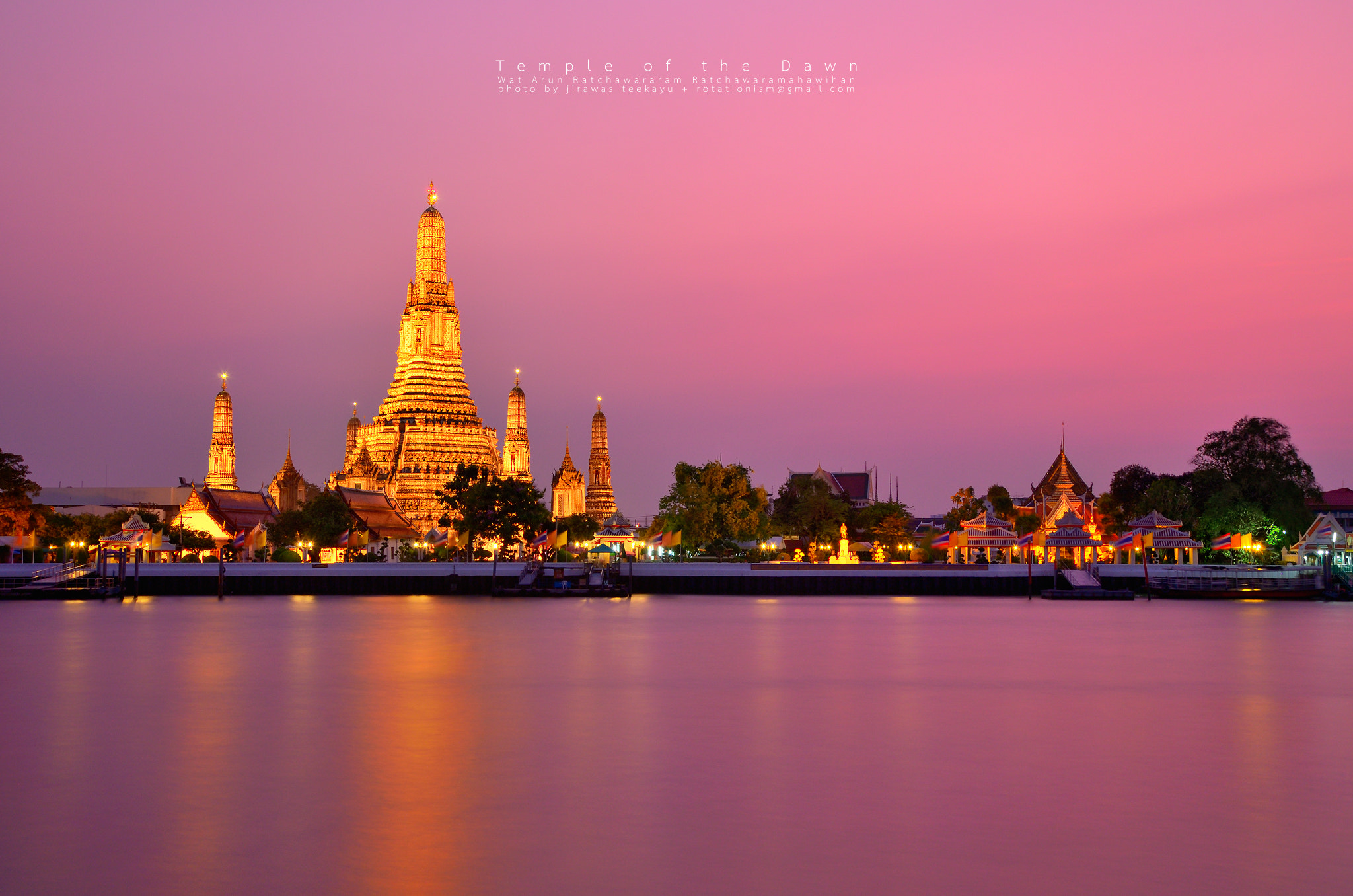 Photograph Temple at Dusk by Jirawas Teekayu on 500px