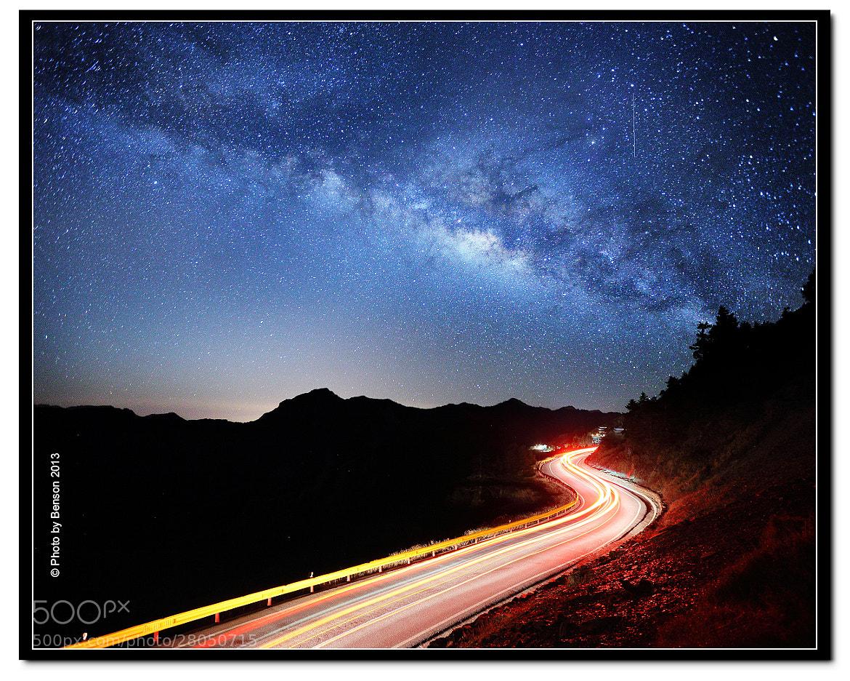 Photograph Galaxy train by benson lin on 500px