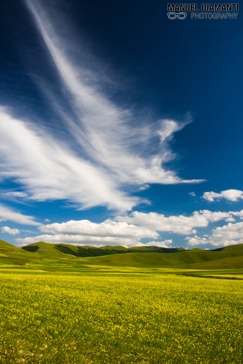 Photograph Castelluccio di Norcia by Manuel Diamanti on 500px