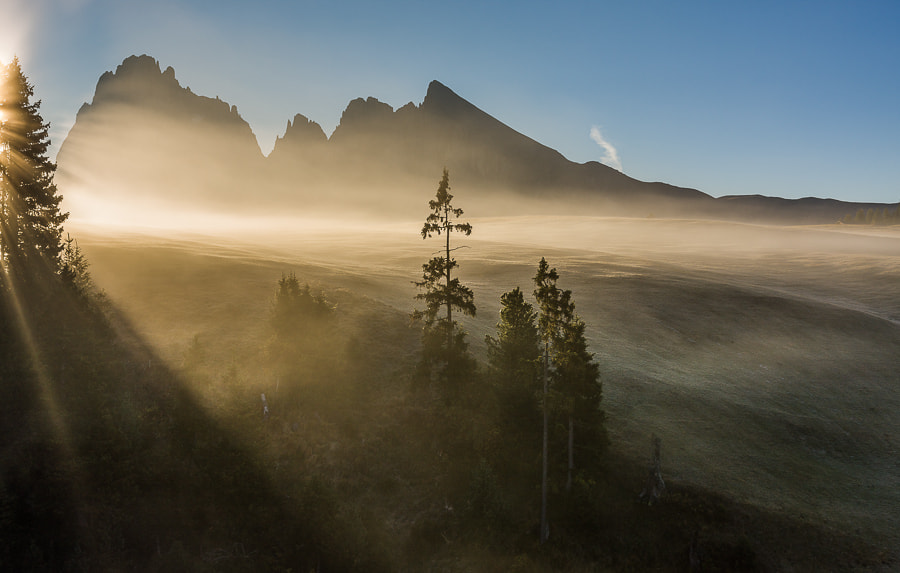 Photograph Misty morning in the Dolomites by Hans Kruse on 500px