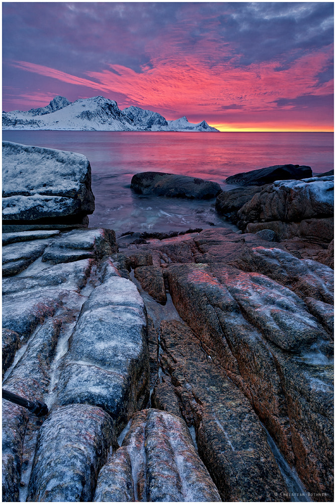 Photograph Arctic Sunset Light by Christian Ringer on 500px