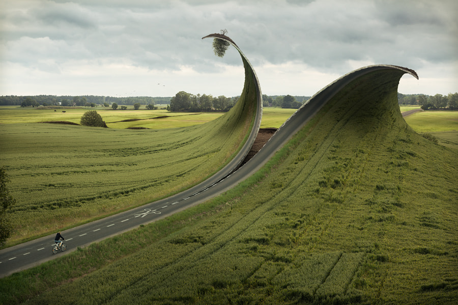 Cut and fold by Erik Johansson on 500px.com