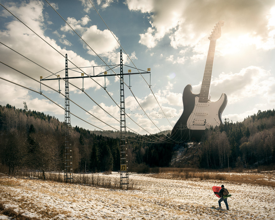 Electric guitar by Erik Johansson on 500px.com