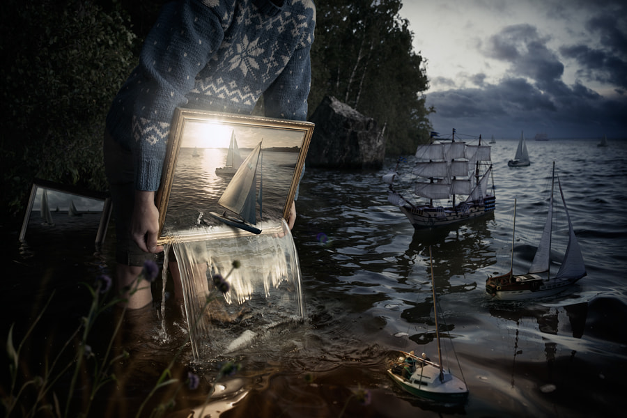 Set them free by Erik Johansson on 500px.com