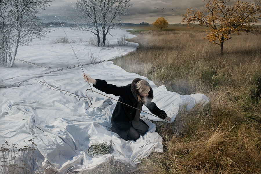 Expecting Winter by Erik Johansson on 500px.com