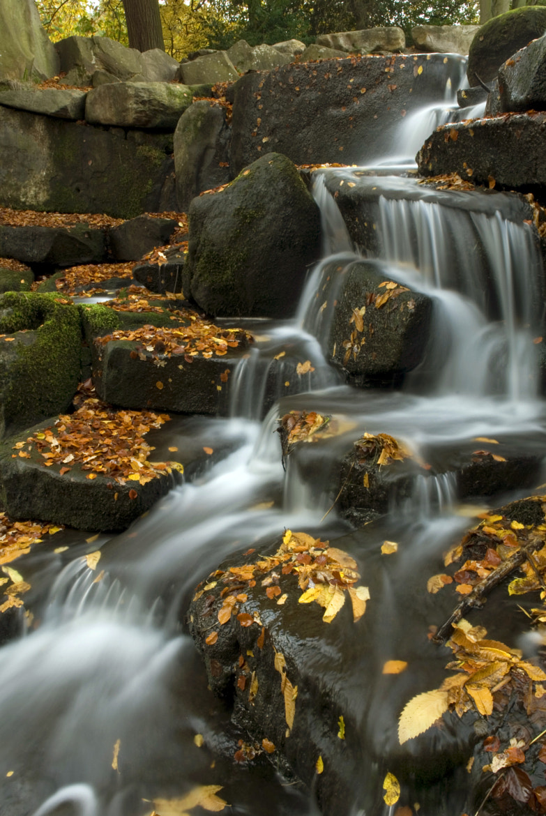 Photograph Waterfall by Angel  Boev on 500px
