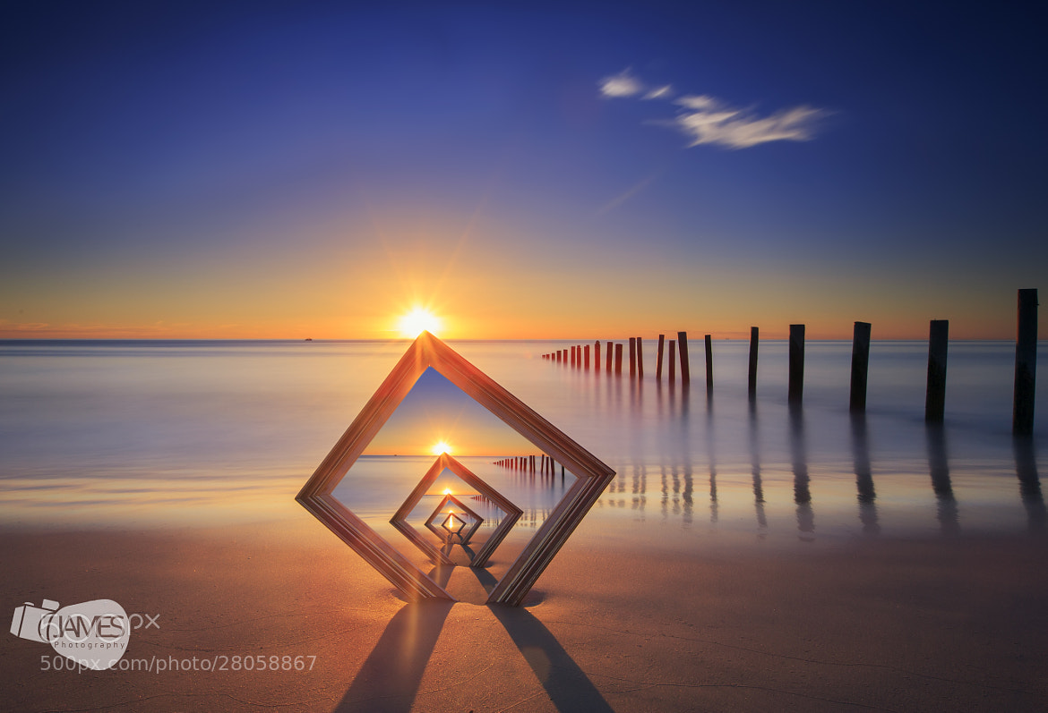Photograph Frame in a frame Sunset by James PhotoGraphy on 500px