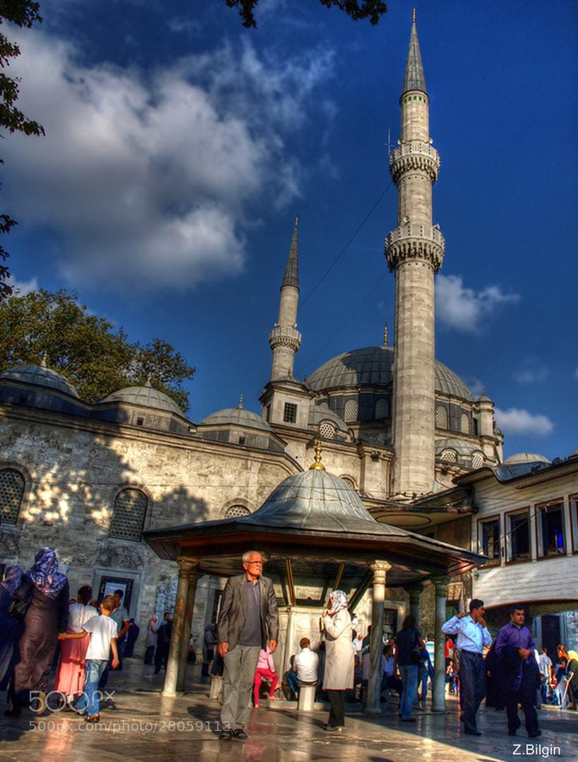 Photograph Eyüp Sultan Camii  (İstanbul/Turkey) by Zeki Bilgin on 500px