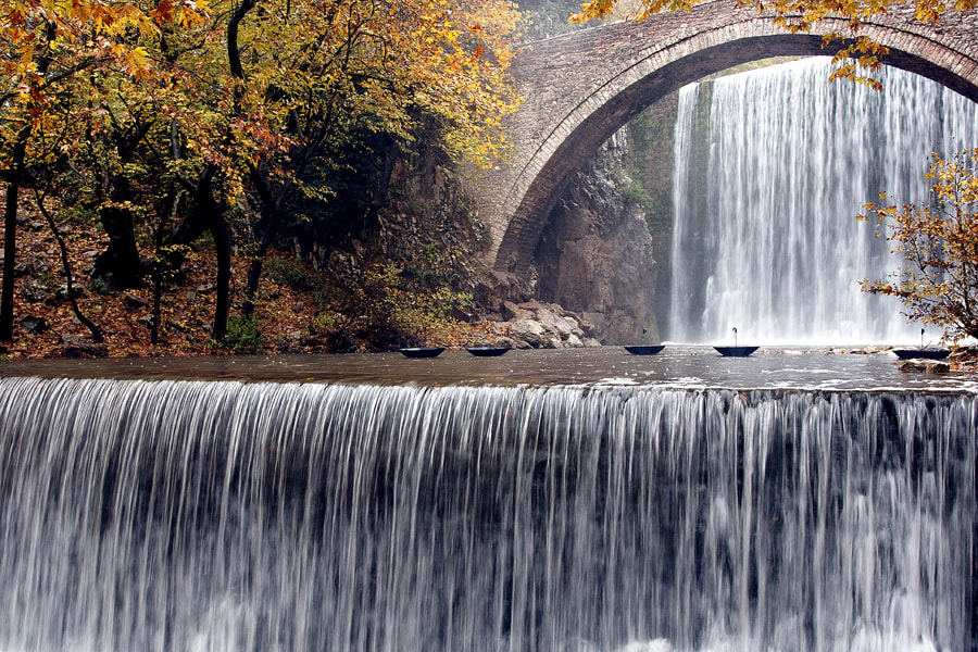 Photograph waterfalls by VAIOS VISVIKIS on 500px