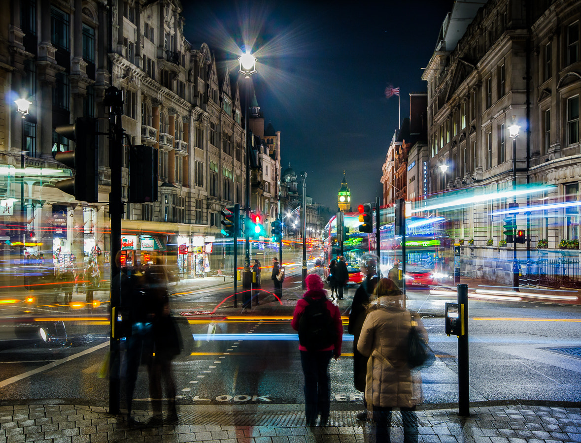 Photograph Busy Night by Stevan Tontich on 500px