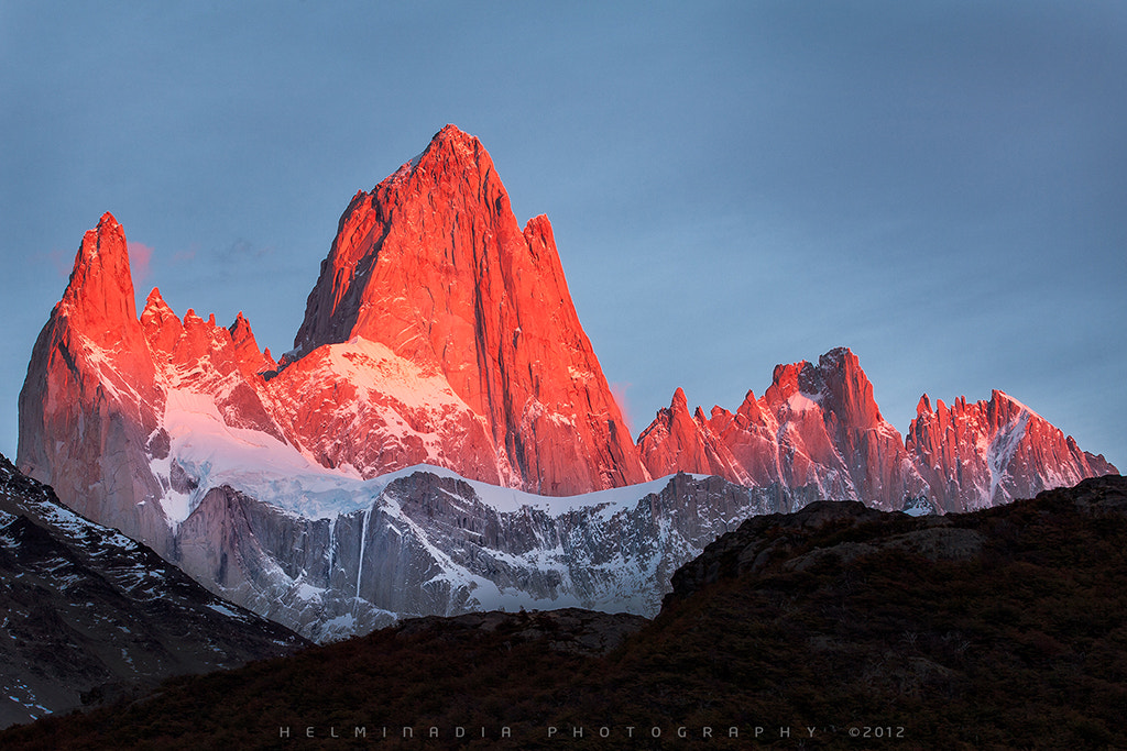 Photograph Mount Fitz Roy by Helminadia Ranford on 500px