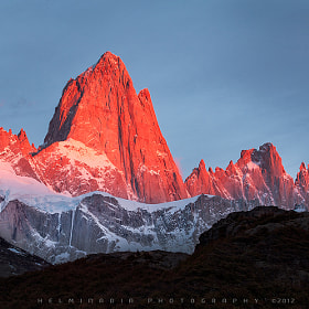 Mount Fitz Roy by Helminadia Ranford (Helminadia_Ranford)) on 500px.com