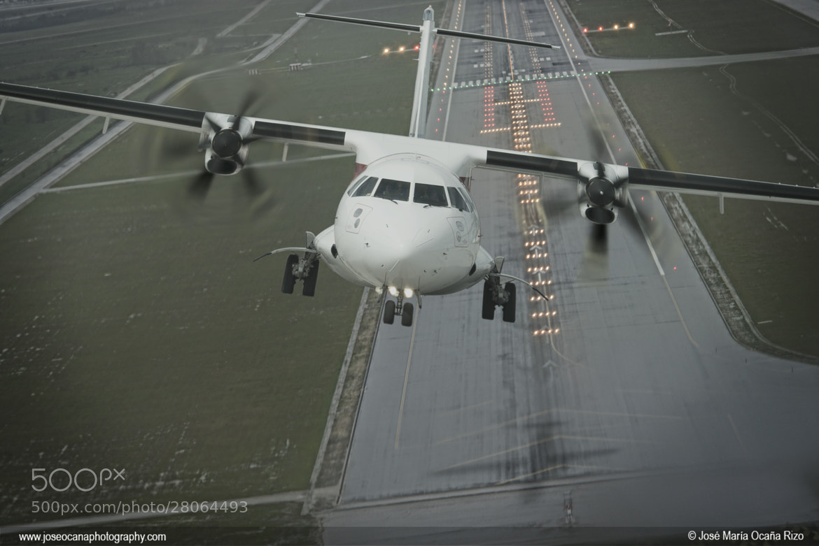 Photograph ATR 72-600 Lift off by Chema Ocaña on 500px