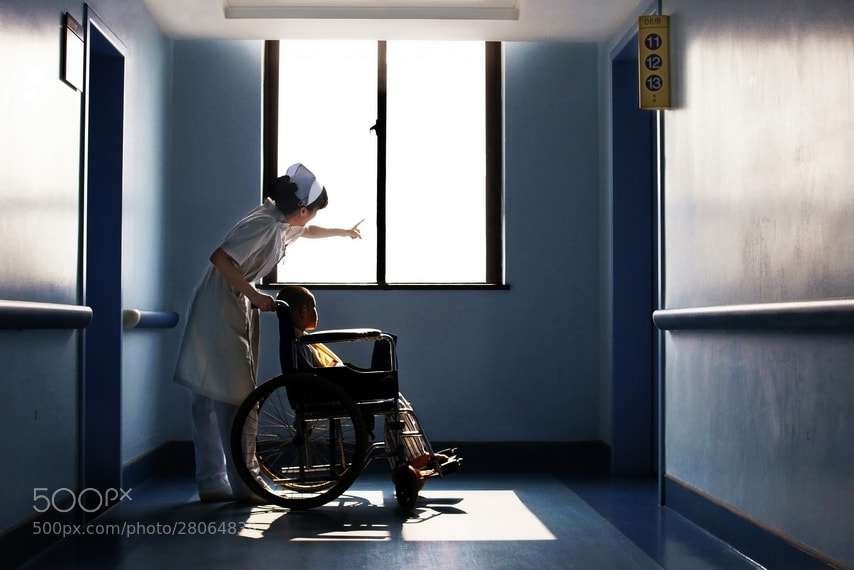 Photograph Nurse by 郑 智弦 on 500px