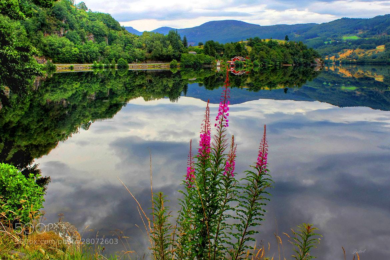Photograph Mirror Lake Bjorheimsvatnet in Rogaland by Julia  Apostolova on 500px
